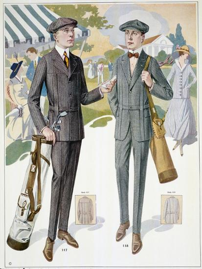 Golfing fashions, c1910s-Unknown-Giclee Print