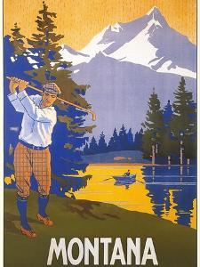 Golfing in Montana