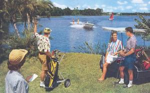 Golfing, Water Skiing
