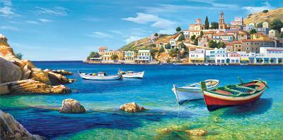 Golfo Mediterraneo-Adriano Galasso-Art Print