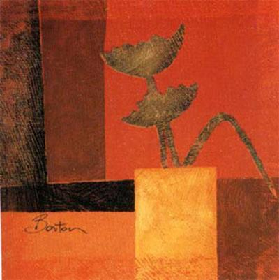 Golgen Leaves I-R Barton-Art Print