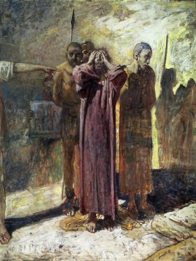 Golgotha, 1892-93-Nikolai Nikolaevich Ge-Giclee Print