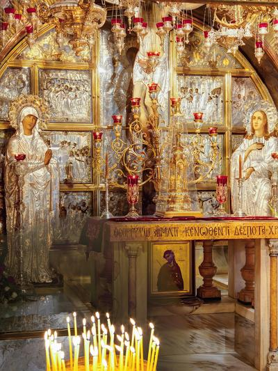Golgotha, Crucifixion Site, Church of Holy Sepulchre, UNESCO World Heritage Site, Jerusalem, Israel-Gavin Hellier-Photographic Print