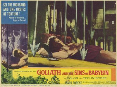 Goliath and the Sins of Babylon, 1964--Art Print