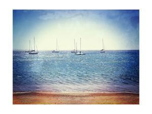 Scene Along the Water II by Golie Miamee