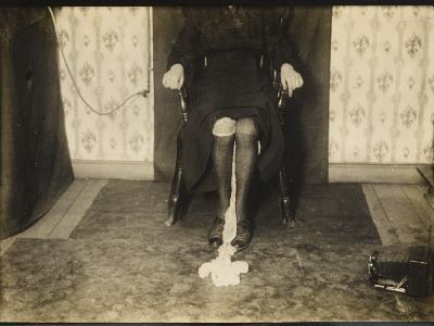 Goligher Ectoplasm--Photographic Print