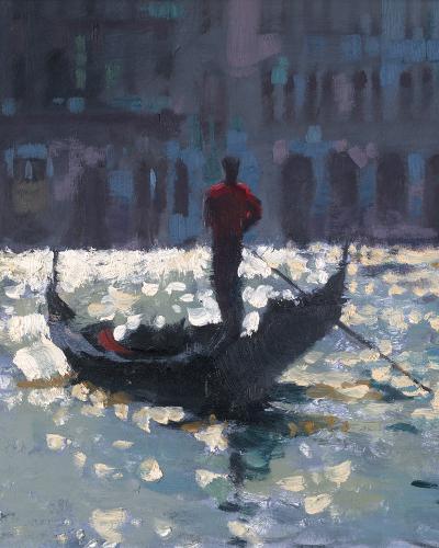 Gondola Glimmer--Giclee Print