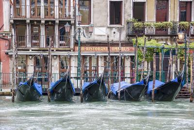 Gondola. Grand Canal. Venice, Italy-Tom Norring-Photographic Print