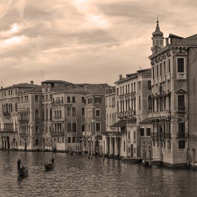 Gondolas and Palazzos III-Rita Crane-Photographic Print
