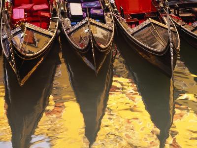 Gondolas, Venice, Italy-Sergio Pitamitz-Photographic Print
