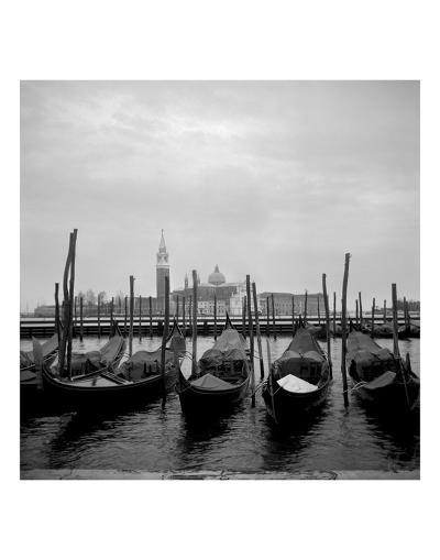 Gondolas-Tom Artin-Art Print