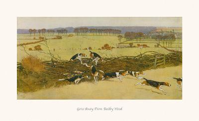 Gone Away from Bailby Wood-Cecil Aldin-Premium Giclee Print