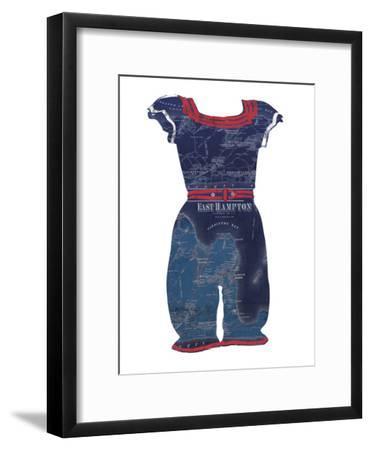 Gone Bathing-Mark Chandon-Framed Giclee Print