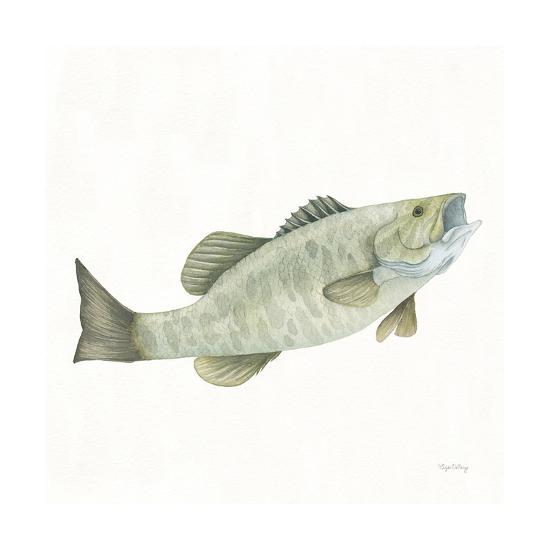Gone Fishin Small Mouth-Elyse DeNeige-Art Print
