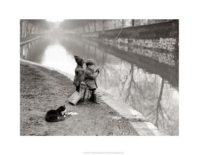 Gone Fishing--Art Print