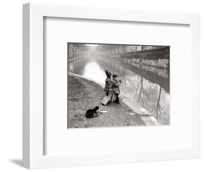 Gone Fishing--Framed Art Print