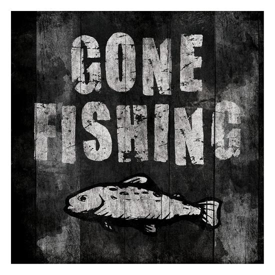 Gone Fishing-Jace Grey-Art Print