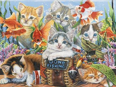 Gone Fishing-Jenny Newland-Giclee Print
