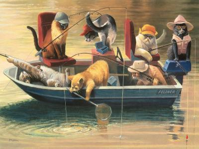 Gone Fishing-Bryan Moon-Premium Giclee Print