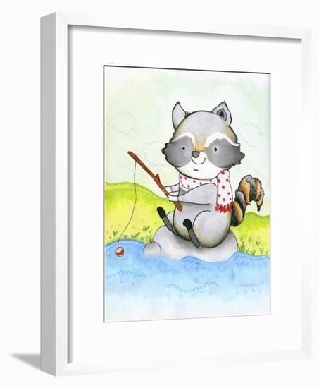 Gone Fishing-Valarie Wade-Framed Premium Giclee Print