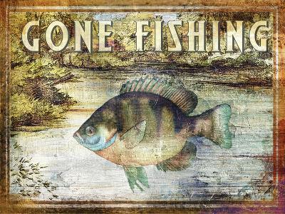 Gone Fishing-Paul Brent-Art Print