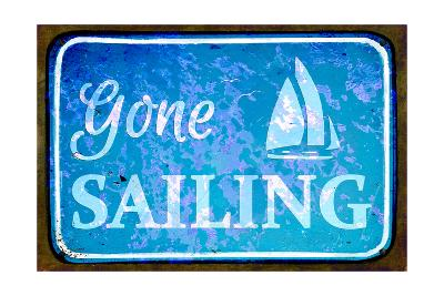 Gone Sailing-Cora Niele-Art Print