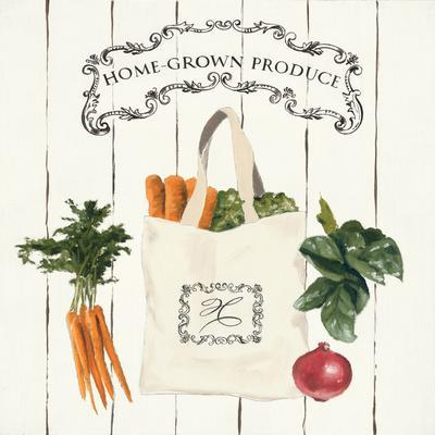 Gone to Market Home Grown Produce-Marco Fabiano-Art Print