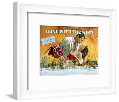 Gone with the Wind, Clark Gable, Vivien Leigh, 1939--Framed Photo