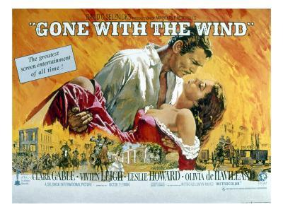 Gone with the Wind, Clark Gable, Vivien Leigh, 1939--Photo