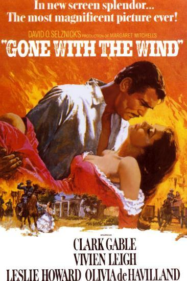 Gone with the Wind--Art Print