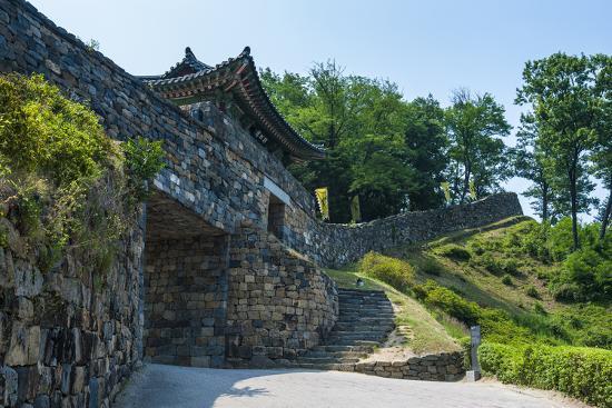 Gongsanseong Castle, Gongju, South Chungcheong Province, South Korea-Michael Runkel-Photographic Print