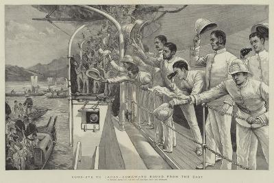 Good-Bye to Japan, Homeward Bound from the East-Joseph Nash-Giclee Print