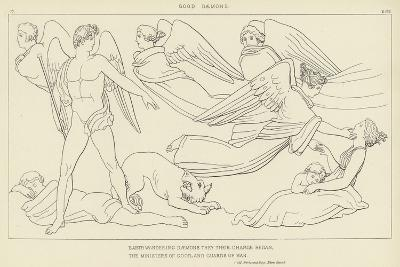 Good Daemons-John Flaxman-Giclee Print