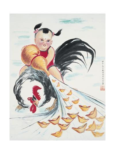 Good Fortune-Guozen Wei-Giclee Print