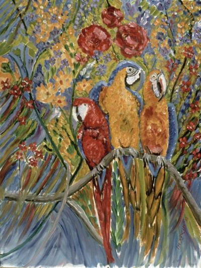 Good Gossip-Patricia Eyre-Giclee Print