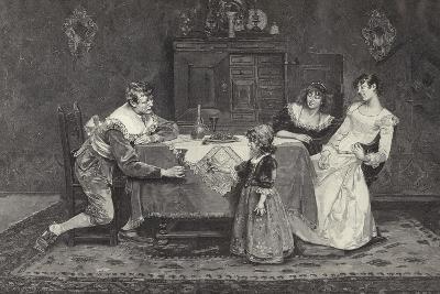 Good Health, Papa--Giclee Print