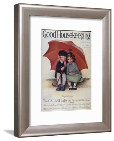 Good Housekeeping, April, 1926--Framed Art Print
