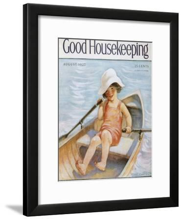 Good Housekeeping, August, 1927--Framed Art Print
