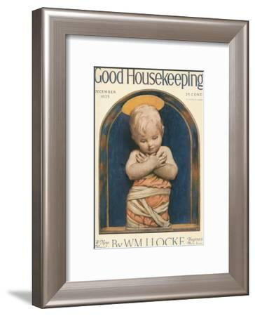 Good Housekeeping, December 1925--Framed Art Print