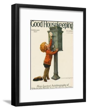 Good Housekeeping, February 1927--Framed Art Print