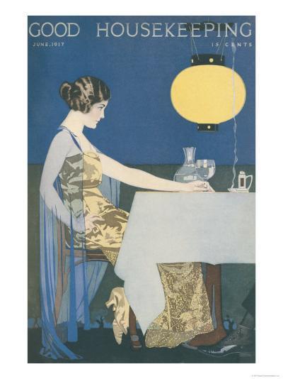 Good Housekeeping, June 1917--Art Print