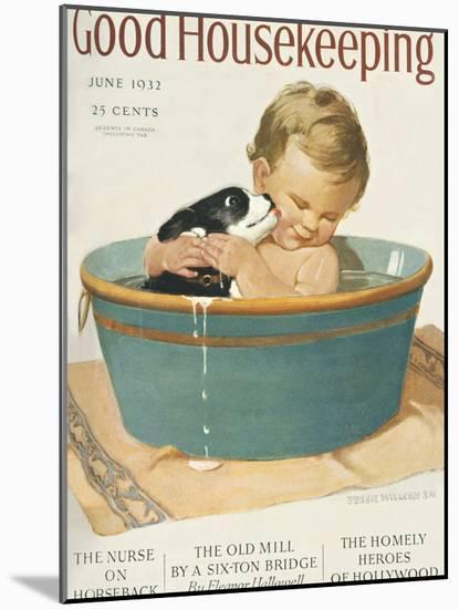 Good Housekeeping, June, 1932--Mounted Art Print