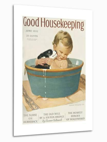 Good Housekeeping, June, 1932--Metal Print