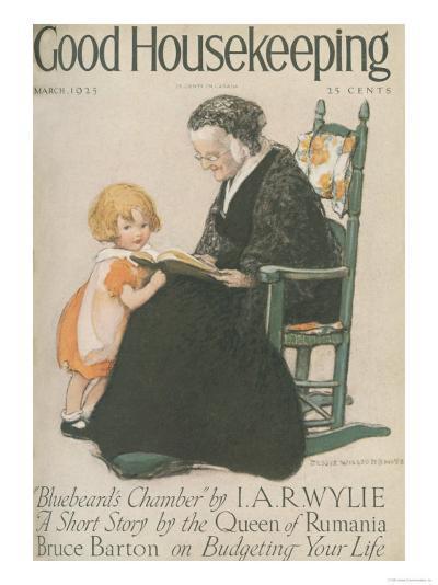 Good Housekeeping, March 1925--Art Print