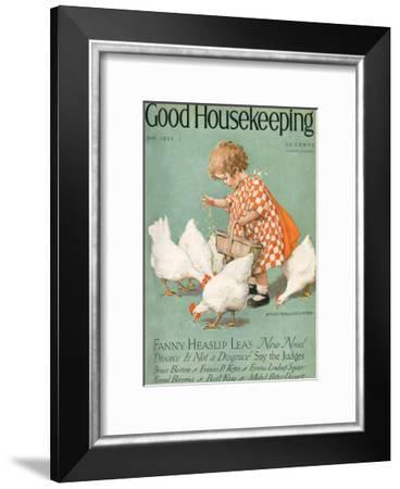 Good Housekeeping, May 1925--Framed Art Print