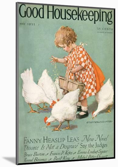 Good Housekeeping, May 1925--Mounted Art Print