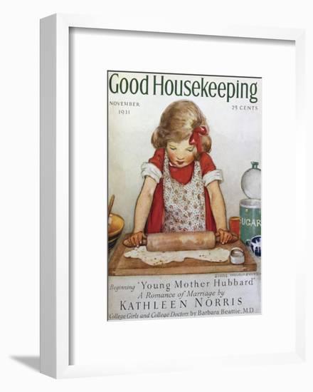 Good Housekeeping, November, 1931--Framed Art Print