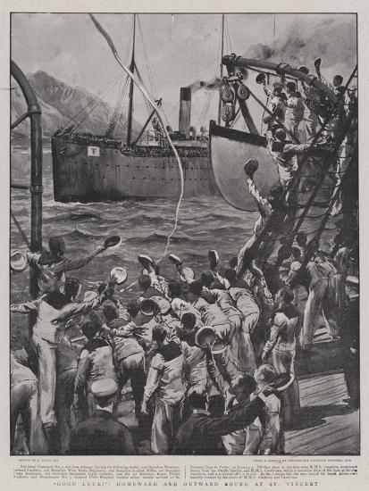 Good Luck!, Homeward and Outward Bound at St Vincent-Joseph Nash-Giclee Print