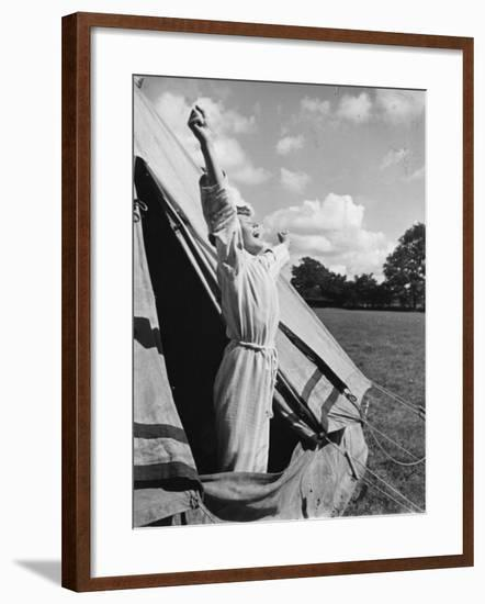 Good Morning Campers!--Framed Photographic Print