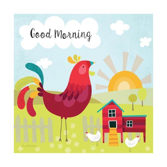 Good Morning Art Print By Lamai Mccartan Artcom